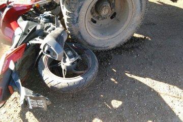 De milagro un motociclista salvó su vida en Chajarí