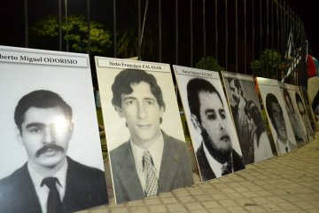 Concordia recordó a sus desaparecidos en el Día de la Memoria