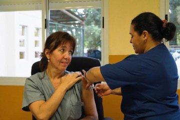 En Chajarí se comenzó con la campaña de vacunación antigripal