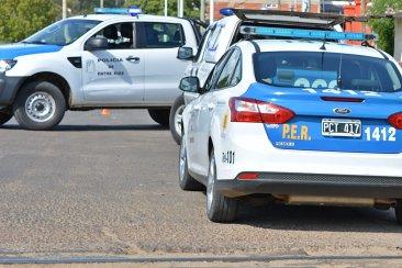 La policía de Entre Ríos envió a Concordia vehículos, motos, cámaras y equipamiento