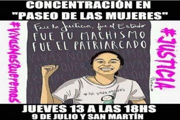 Este jueves Chajarí pedirá por Justicia para Micaela García con una movilización
