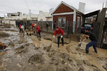 Inician campaña solidaria en Villa del Rosario para ayudar a los inundados de Comodoro Rivadavia