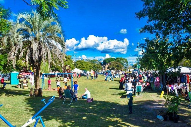 La Expo Pascuas, uno de los eventos más convocantes durante el feriado.