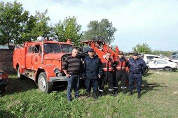 Se incorpora una autobomba más al cuartel de Bomberos Voluntarios de Federación