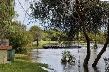 Varias familias debieron ser asistidas por las intensas lluvias en el Departamento Federal