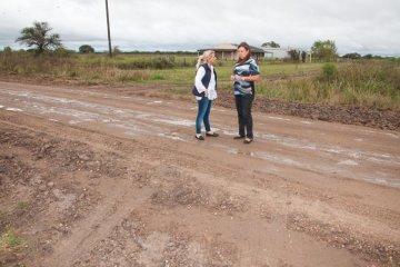 Buscan concretar el bacheo de la ruta Nº 1 y la reposición de ripio en la ruta Nº 28