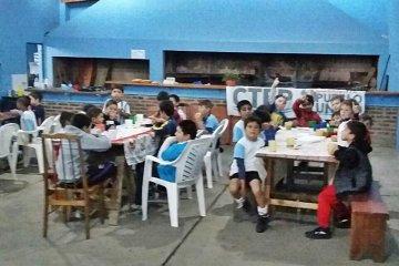 Inauguraron el merendero en el escuelita de fútbol de La Criolla