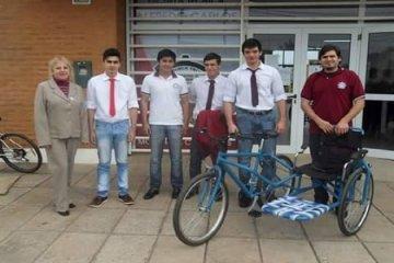 """Jóvenes de Mocoretá presentaron un proyecto de inclusión denominado """"Bicicleteame"""""""