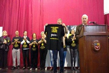 El fundador de la campaña nacional Estrellas Amarillas estuvo en Chajarí