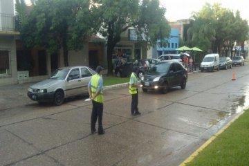 Intensifican los controles de tránsito en las calles de Chajarí
