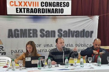 El Congreso de AGMER aceptó la última propuesta salarial del gobierno
