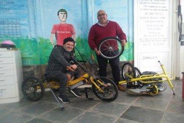 """Un chajariense recibirá una bicicleta adaptada de la Fundación """"Jean Maggi"""""""