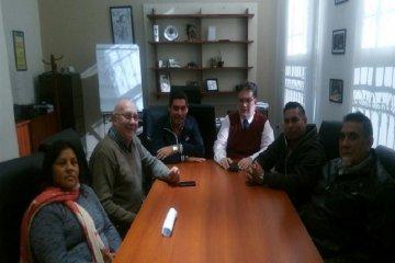 ATE Feliciano solicitó a Francolini soluciones habitacionales para los trabajadores