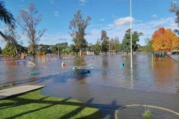El río Uruguay llegará a los 12 metros durante el fin de semana