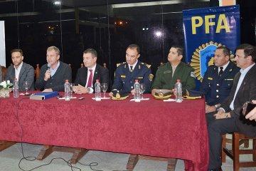 La Policía Federal de Concordia fue ascendida de categoría y será una División Antidrogas