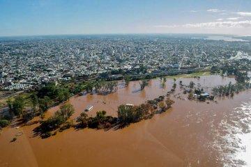 Cresto advirtió que no se asistirá a quienes hayan retornado a zonas inundables