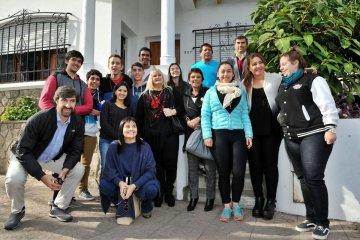 El gobierno brinda apoyo a una residencia de estudiantes concordienses en Paraná