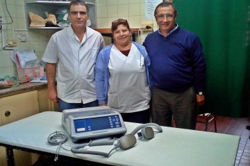 El hospital Felipe Heras sumó un desfibrilador y dos computadoras