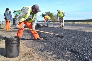Ya comenzaron los trabajos de arreglo integral de avenida Frondizi
