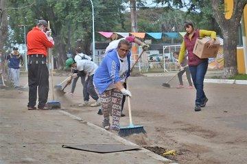 La Municipalidad refuerza el trabajo de recuperación de las zonas afectadas por la creciente