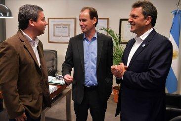 Sergio Massa y Gustavo Bordet transparentaron el acuerdo para las legislativas