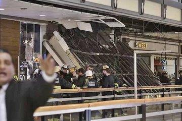 Una familia concordiense estaba debajo del techo que cayó en el Shopping Abasto