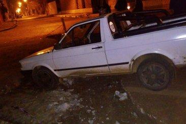 Una obra sin señalizar provocó lesiones a la conductora de una camioneta