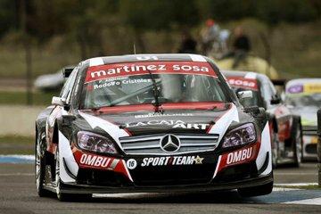 Martín Ponte debió abandonar en la final del TRV 6