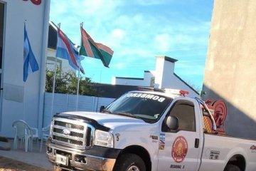 Desde el Ministerio de Seguridad de la Nación visitaron el cuartel de Bomberos de Villa del Rosario