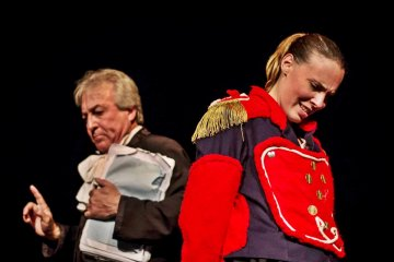 """Juana Azurduy"" vuelve a subirse a un escenario local"