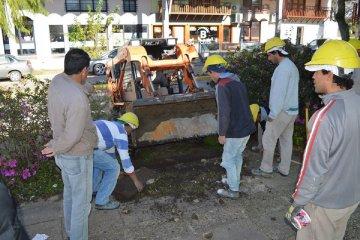 Comenzó la obra de modernización del centro federaense