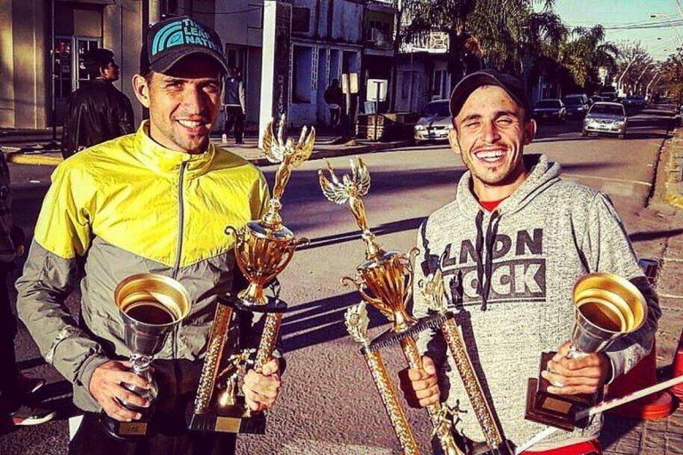 Dos concordienses corren en la Maratón de Mar del Plata