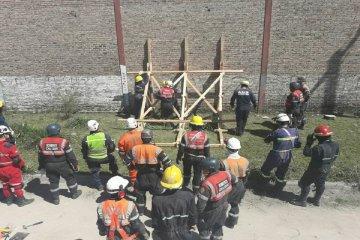 Bomberos de Chajarí se capacitaron en rescate de estructuras colapsadas