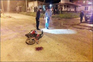 Un joven motociclista falleció en un trágico accidente