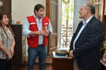 Salto Grande aportó un Desfibrilador Externo Automático a la Cruz Roja de Concordia