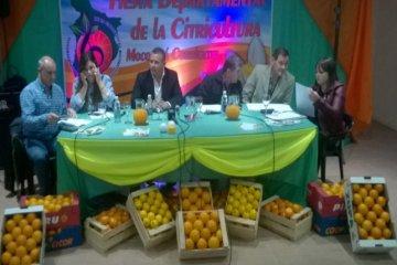 Se presentó la 26° Fiesta Departamental de la Citricultura