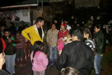 El municipio asistió durante la madrugada a los afectados por la tormenta