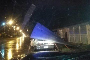 Federación también sufrió las consecuencias del temporal