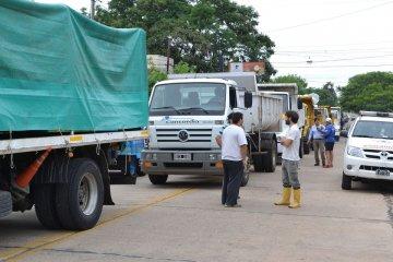 Envían ayudas para las familias afectadas por el temporal en Entre Ríos