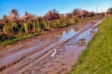 La red vial de la provincia quedó seriamente afectada tras las intensas lluvias