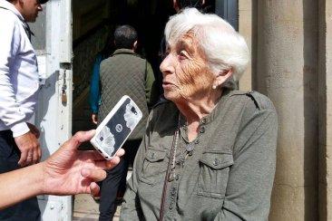 """Tiene 88 años y fue a votar porque """"si uno tiene salud debe cumplir con la patria"""""""