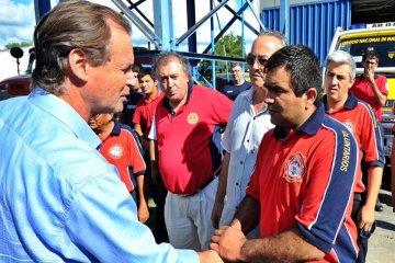 Ante el incremento de los reclamos el gobernador Bordet recibirá a los bomberos voluntarios
