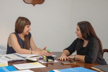 Lena y la ministra de Salud se reunieron para analizar políticas sanitarias