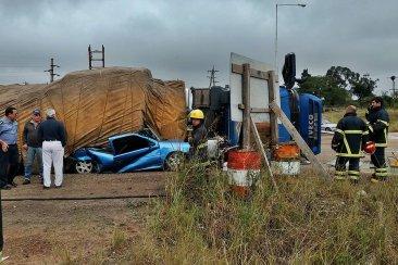 Se conocieron más detalles sobre el fatal vuelco ocurrido en la Ruta 14