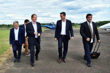 Benedetto dijo que la aprobación del crédito para el aeropuerto es fruto del