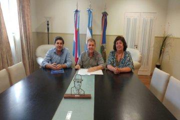 Chajarí firmó un convenio de asistencia con la Secretaría de Derechos Humanos de la Nación