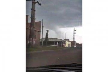 VIDEO: Afirman haber filmado un tornado en Concordia