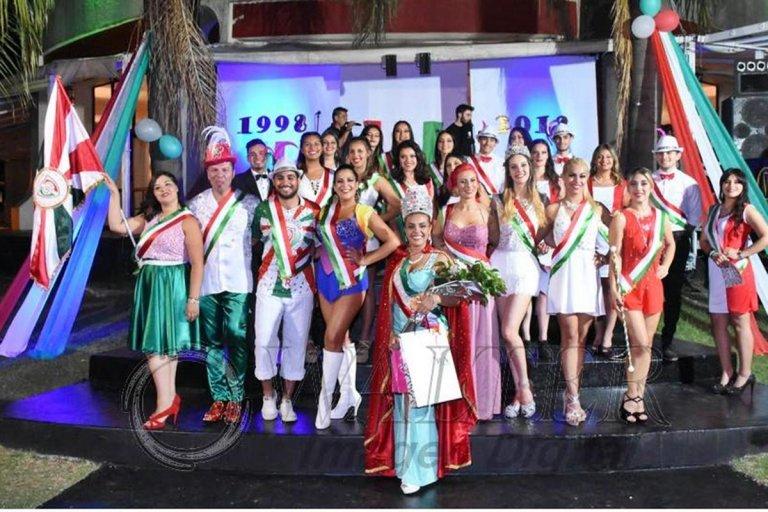 Las figuras en competencia de la agrupación tricolor