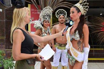El carnaval local tuvo un fuerte raid televisivo de difusión nacional
