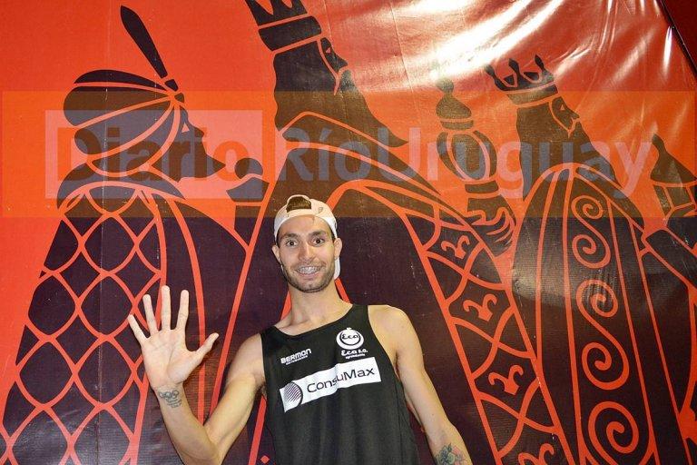 Fede Bruno, el primero en ganar cinco veces la de Reyes